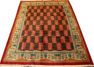 CHINESE WOOL CARPET MID 20TH C 8 6 X 11 5