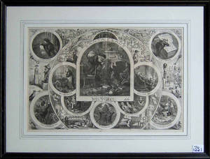 Thomas Nast lithograph titled Santa Claus
