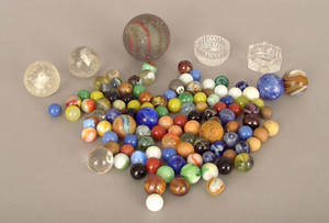 Bag of marbles Provenance The Estate of Anne Brossman Sweigart