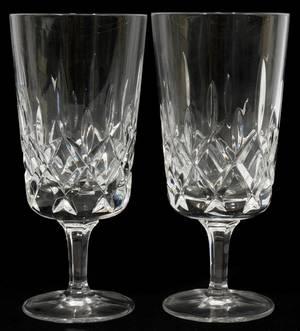 012324 GORHAM CUT CRYSTAL ICE TEA GLASSES 12 H 7