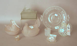 Group of glass tablewares Provenance The Estate of Anne Brossman Sweigart