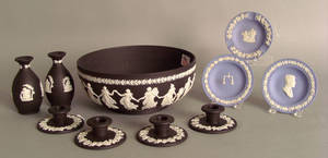 Group of Wedgwood Jasperware Provenance The Estate of Anne Brossman Sweigart