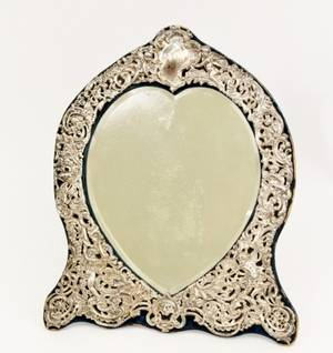 Sterling Silver Dressing Mirror