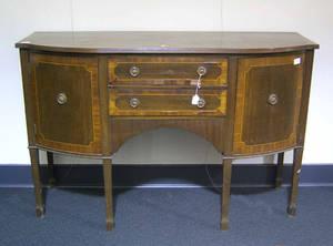 Federal style mahogany sideboard