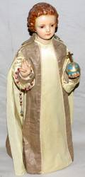 062246 COMPOSITION STATUE OF CHRIST CHILD H 21