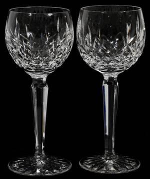 050164 WATERFORD LISMORE CRYSTAL CLARET WINES