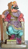 040162 ROYAL DOULTON PORCELAIN FIGURINE THE OLD KING