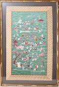 080200 CHINESE SILK EMBROIDERY 25 X 14