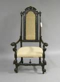 Jacobean style armchair