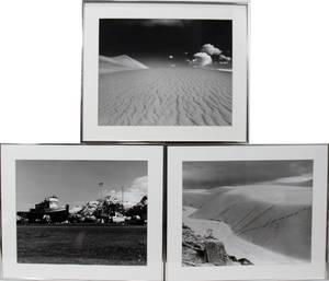 062373 ALBERT SPOONER PHOTOGRAPHS THREE SIGNED
