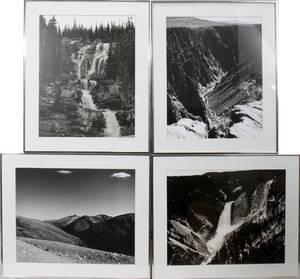 062371 ALBERT SPOONER PHOTOGRAPHS FOUR SIGNED