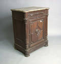 Victorian marble top cupboard