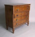 Late Federal mahogany chest of drawers