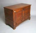 English pine blanket chest