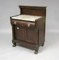 Victorian mahogany commode
