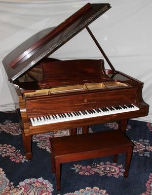042045 STEINWAY MAHOGANY HEPPLEWHITE STYLE PIANO 1912