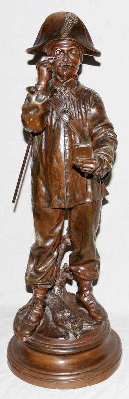 041060 CHARLES CHENIER FRENCH BRONZE SCULPTURE
