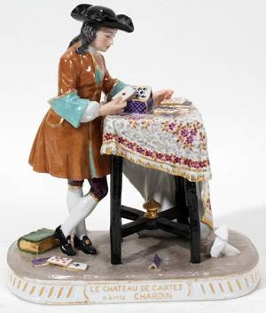 011093 FRENCH PORCELAIN FIGURE H 6