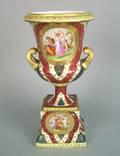 Austrian porcelain urn