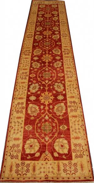 110120 PAKISTANI DESIGN PERSIAN RUNNER 13 8 X 2 8