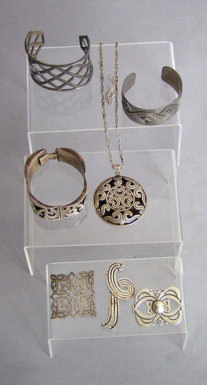 Taxco Mexico sterling silver jewelry Provenance Shoemaker Estate