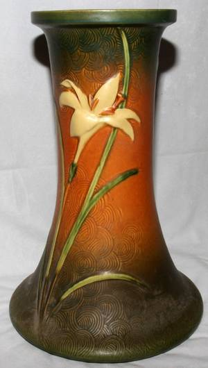 Realized Price For 101287 Roseville Zephyr Lily Pottery