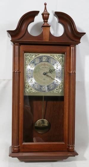 120151 SETH THOMAS MANTLE CLOCK H 27 W 13