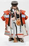 012234 HEREND HUNGARIAN PORCELAIN COSSACK H 13