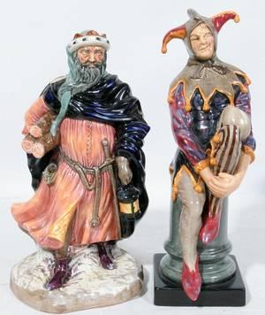 120168 ROYAL DOULTON PORCELAIN GOOD KING WENCESLAS
