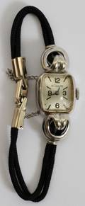 101380 LECOULTRE 14KT GOLD LADYS WATCH
