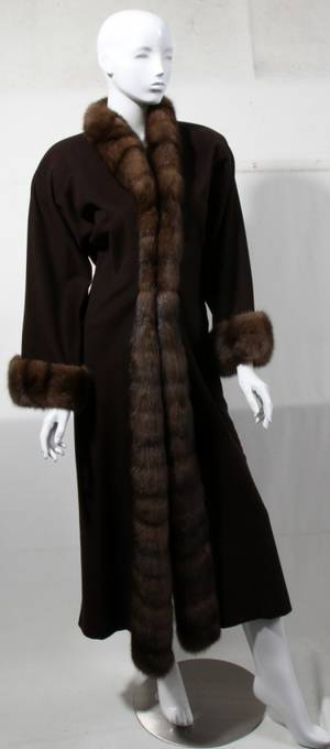 121371 GIULIANA TESO CASHMERE COAT FOR NEIMAN MARCUS