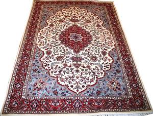 101407 JAIPUR INDIAN RUG 9 0 X 6 0 PERSIAN DESIGN