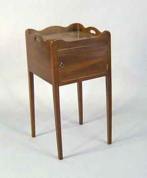 George III mahogany stand