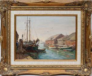 112402 CHARLES WALTENSPERGER OIL ON CANVAS