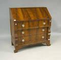 Empire mahogany slant front desk