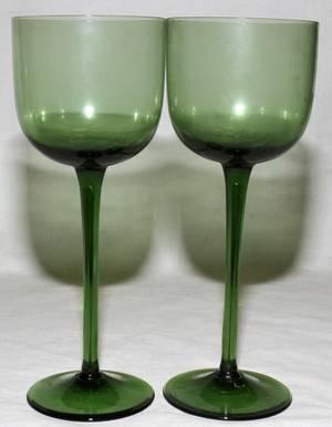 092458 VENETIAN WINE GLASSES TWELVE H 9