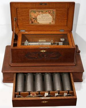 011006 MERMOD FRERES SWISS 7CYLINDER MUSIC BOX