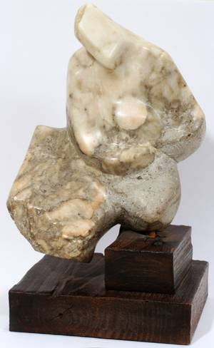 110010 SAULTER CARVED MARBLE SCULPTURE