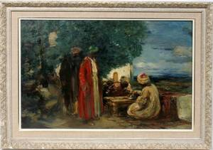 032080 DUDLEY HARDY OILMASONITE 20 X 30 MIDDLE EAST