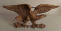 Cast eagle wall plaque