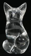 031257 STEUBEN GLASS FOX H 3