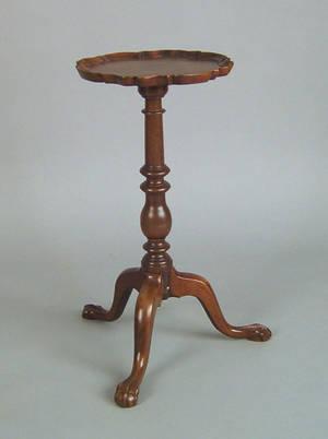 George III mahogany wine stand ca 1760