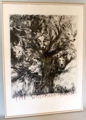 Jim Dine The WolfMans Dreams Signed Print