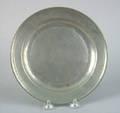 Philadelphia pewter Love plate 17811793