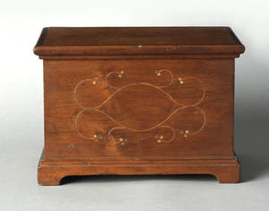 Chester County Pennsylvania cherry dresser box ca 1760