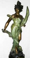 122316 P ROCHE BRONZE H 52 DANCE OF THE FLOWERS