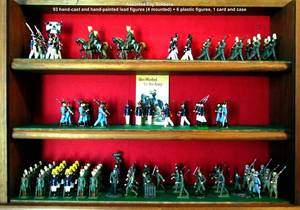 060298 LEAD TOY SOLDIER COLLECTION 93 PCS H 35