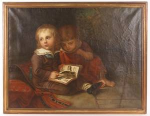 After Vogel The Sons of the Artist late 19th C