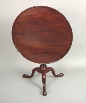 Pennsylvania Queen Anne walnut tea table ca 1765