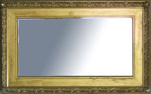 Large mirror with giltwood frame